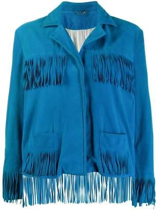A.N.G.E.L.O. Vintage Cult 1990's Au Revoir fringed jacket