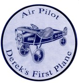 The Well Appointed House Air Pilot Personalized Wall Plaque for Boys