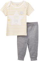 Rene Rofe Starry Night Top & Pant Set (Baby Girls)