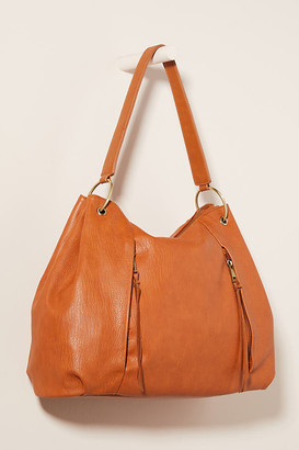 Anthropologie Rita Double-Zip Slouchy Tote Bag By in Brown