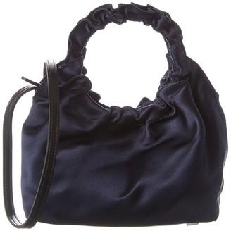 The Row Double Circle Small Satin Shoulder Bag