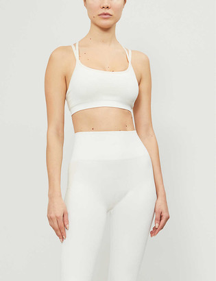 Reebok x Victoria Beckham Seamless stretch-jersey sports bra