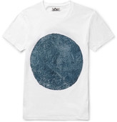 Blue Blue Japan Circle-Print Cotton-Jersey T-Shirt