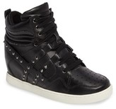 Ash Toddler Girl's Boogie Chic Studded High Top Sneaker