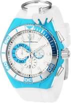 Technomarine Men's 112013 Cruise Locker Nylon Strap with Key Ring Dial Watch