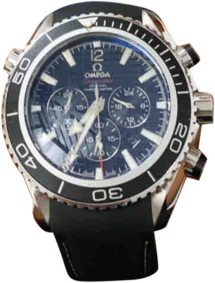 Omega Seamaster Planet Ocean Grey Steel Watches