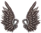 Lanvin Swan clip-on earrings