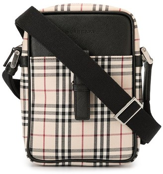 Burberry Pre-Owned Check shoulder bag