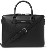 Dolce & Gabbana Cross-Grain Leather Briefcase