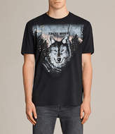 AllSaints Night Wolvs Crew T-Shirt