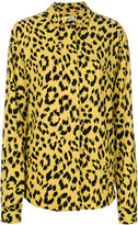 Saint Laurent leopard print shirt - women - Viscose - 36