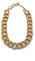 Erickson Beamon AERIN Chain Link Necklace