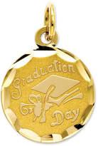 Macy's 14k Gold Charm, Graduation Cap Charm