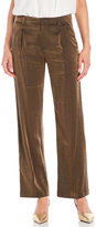 Swildens Cropped Metallic Trousers