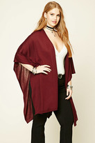 Forever 21 FOREVER 21+ Plus Size Open-Front Poncho