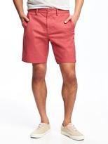 "Old Navy Built-In Flex Slim Ultimate Khaki Shorts for Men (8"")"