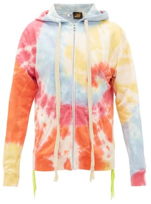 Loewe Paula's Ibiza - Tie-dye Zip-up Hooded Sweatshirt - Multi