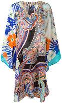Etro multi printed tunic - women - Silk - S