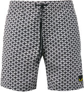 Fendi Bag Bugs swim shorts - men - Polyamide/Polyester - 50