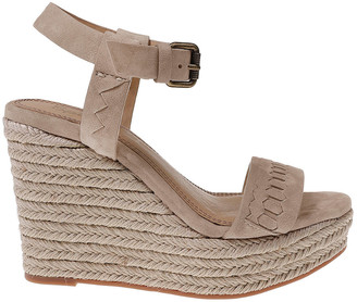 Splendid Shayla Suede Wedge Sandal