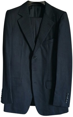 Gucci Navy Wool Suits