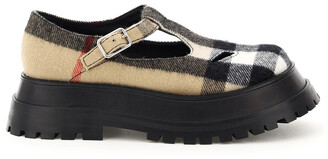Burberry Vintage Check Chunky Sole Shoes