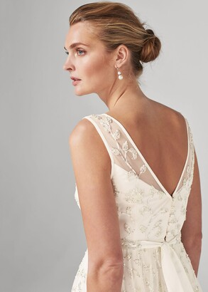 Phase Eight Millicent Beaded Wedding Dress
