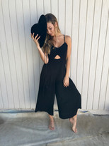 Tysa Jagger Jumpsuit in Black