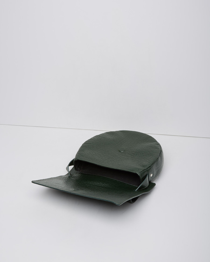 Maison Martin Margiela front flap circle bag