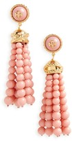 Tory Burch Women's Beaded Tassel Drop