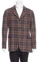 Yohji Yamamoto Three-Button Wool Blazer
