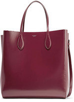 Rochas Glossed-leather tote