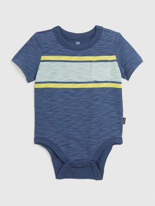 Gap Baby Short Sleeve Striped Bodysuit