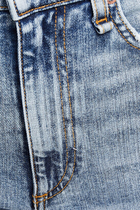 Rag & Bone Nina Distressed High-rise Kick-flare Jeans