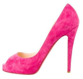 Christian Louboutin New Very Prive 120 Pumps