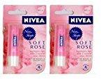 Nivea Lip Care Soft Rose 4.8 gm - 2 pk