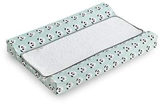 Camilla And Marc Funny Baby - Removable Laminated Changing Pad, 53 x 80 cm, Pandy Mint