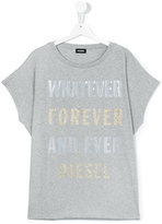 Diesel teen printed T-shirt