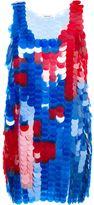 Au Jour Le Jour sleeveless sequin dress - women - Silk/PVC - 40