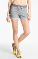James Perse Contrast Waist Fleece Shorts