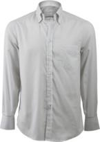 Brunello Cucinelli Stripe Spread Collar Shirt
