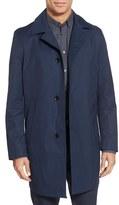 BOSS Men's 'Dais' Trim Fit Cotton Blend Raincoat