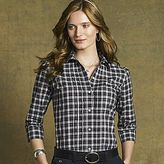 American Living Clearance! American Living Plaid Tuxedo Shirt