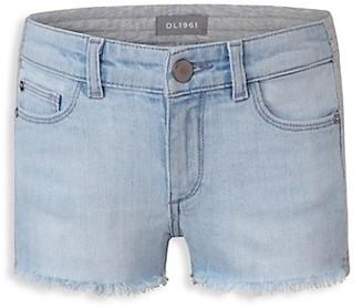 DL1961 Girl's Sweatpant Denim Shorts