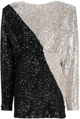 Rotate by Birger Christensen Sequinned Mini Dress