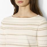 Ralph Lauren Striped Boatneck Top