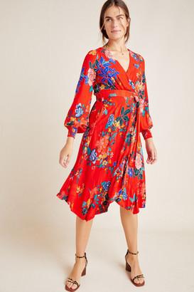 Anthropologie Boswell Wrap Dress
