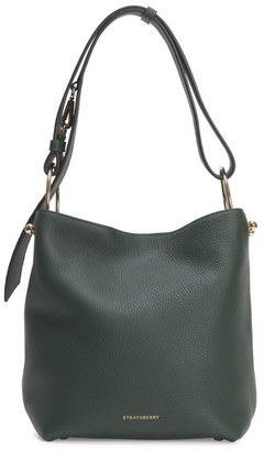 Strathberry Nano Lana Leather Hobo Bag