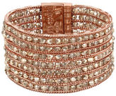 Kenneth Cole New York Multi Row Rose Gold Bracelet