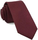 The Tie Bar Burgundy Flicker Tie